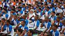 PM Modi bends over backwards to mark International Yoga Day