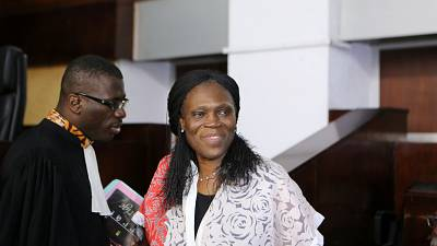 Simone Gbagbo denies involvement with death squads