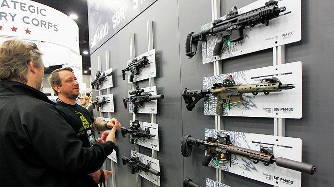 مجلس الشيوخ الأمريكي يرفض مقترحات لتشديد الإجراءات المتعلقة بشراء الأسلحة.