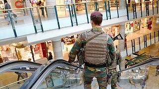 Major terror alert in Brussels after suspect arrested near main shopping centre