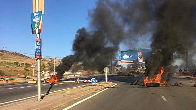 S. Africa govt condemns unrest sparked by ruling party politics