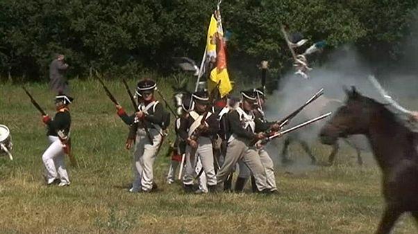 Une bataille napoléonienne rejouée en Biélorussie