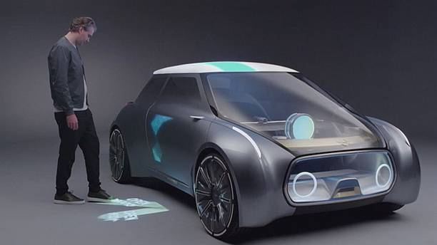 BMW unveils its 'vision' cars for the future