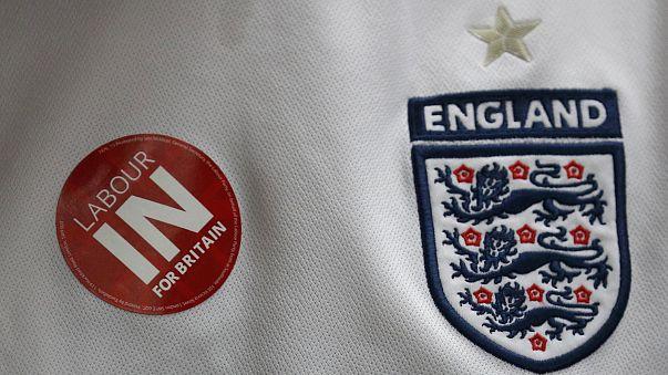 Adeptos ingleses no Euro 2016 divididos sobre 'Brexit'