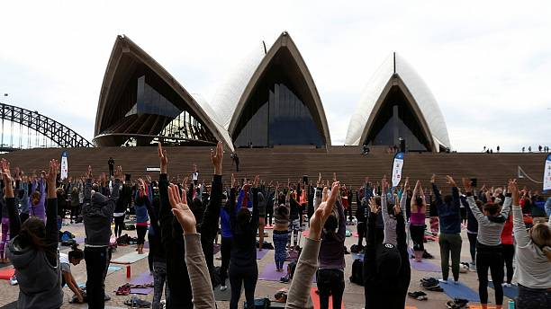 Watch: International Yoga Day celebrated around the world