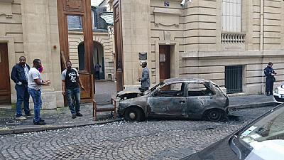 Congo Brazzaville embassy in Paris petrol bombed