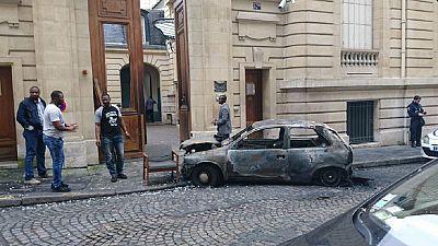 Attaque de l'ambassade congolaise à Paris