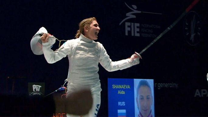 Avrupa Eskrim Şampiyonası Polonya'da devam ediyor