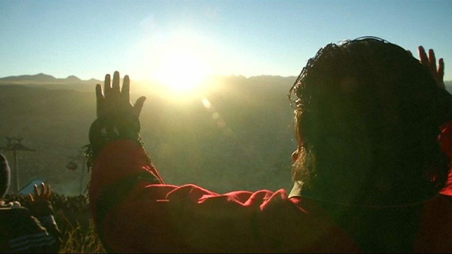 Bolivia da la bienvenida al solsticio de verano