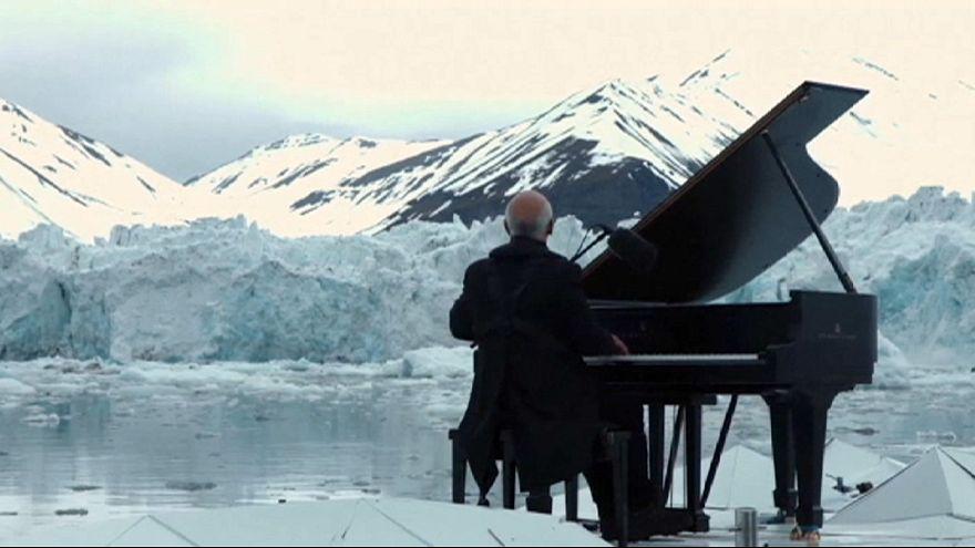 Pianist plays politics in the Arctic