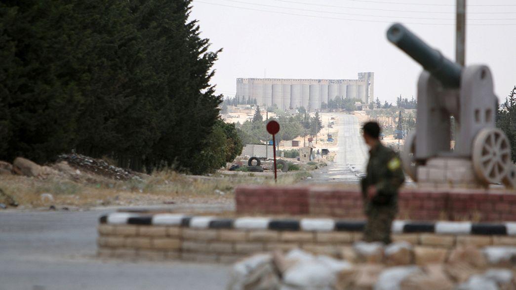 Авиаудары по сирийской Ракке: десятки погибших и раненых