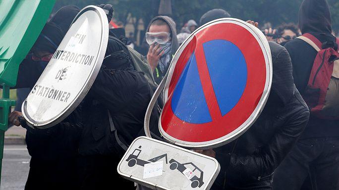 Polizei verbietet Gewerkschaftsdemonstration in Paris