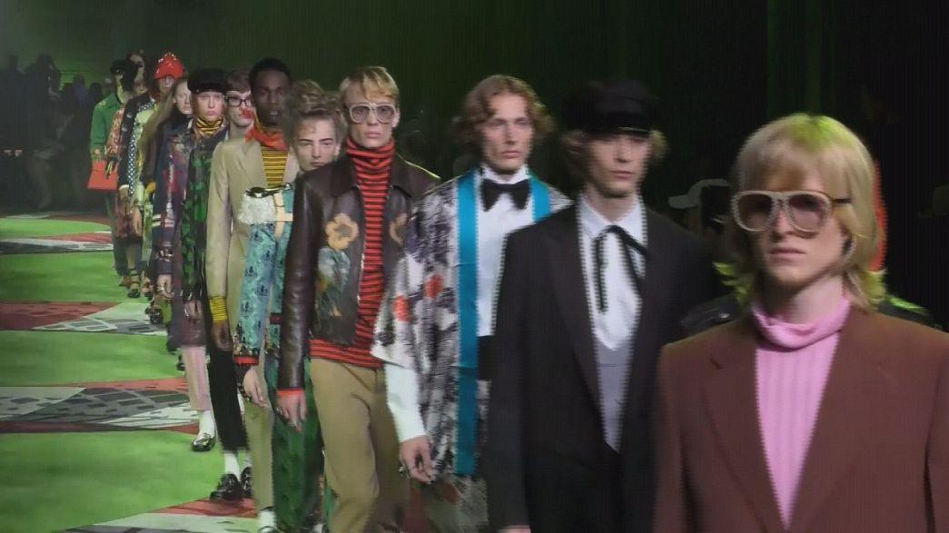 Milano Moda Haftası'nda Gucci, Armani ve Westwood esintileri