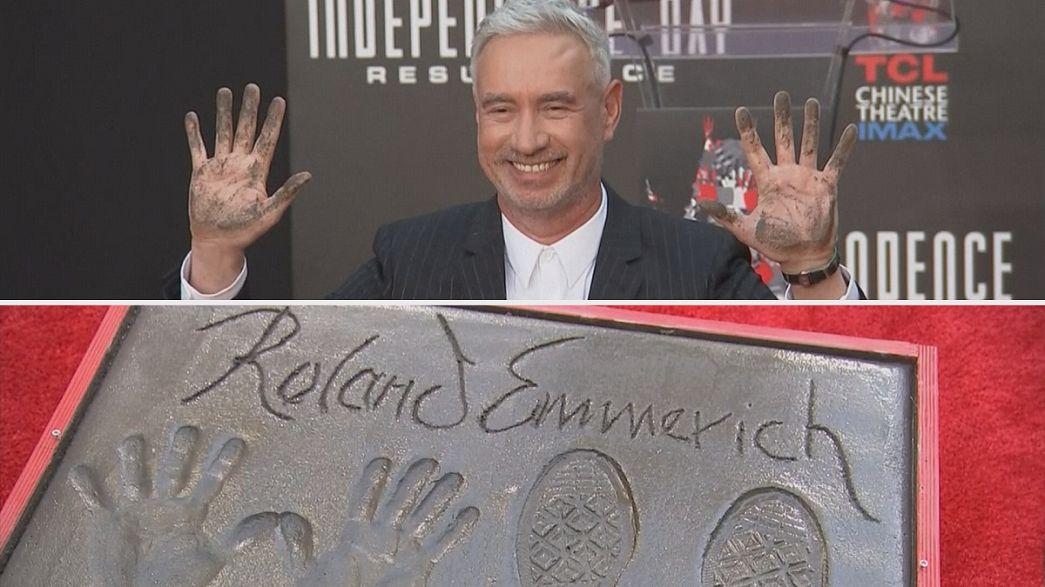 Roland Emmerich Hollywood'a el ve ayak izlerini bıraktı