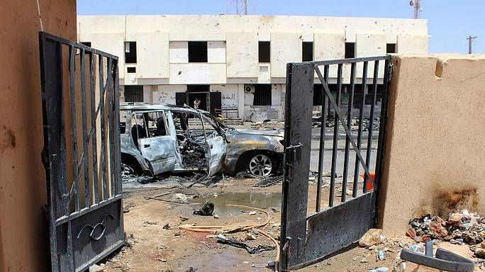 IŞİD militanları Sirte'de sıkıştı