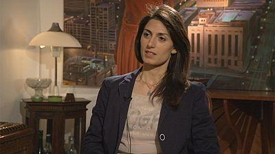 Virginia Raggi, la nueva alcadesa de Roma, se confía a euronews en exclusiva