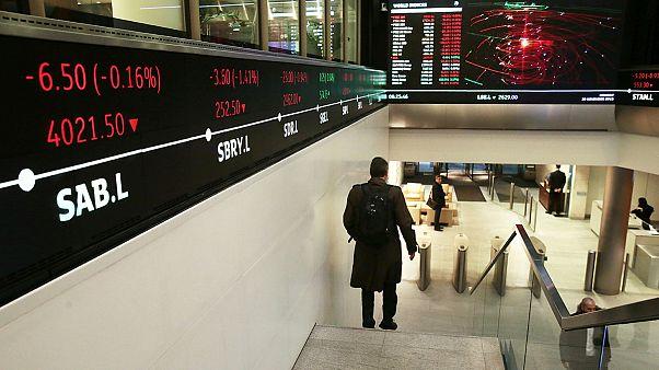 افزایش اندک شاخص سهام در بازار بورس لندن در آستانه همه پرسی برکسیت
