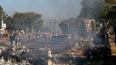 2 killed, 40 arrested in Pretoria violence