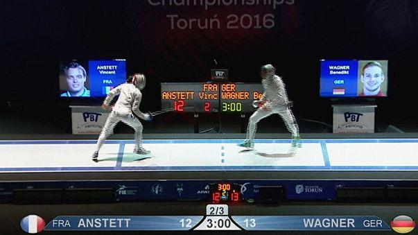 Avrupa Eskrim Şampiyonası'nda Rusya'nın üstünlüğü sürüyor