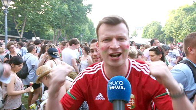 Ungarn ist weiter - so sieht Freude aus