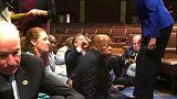 Sentada demócrata en la Cámara de Representantes por la inacción sobre las armas