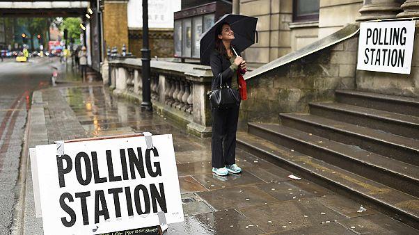 Decision day as Britons vote on their EU future