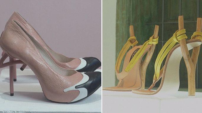 A arte dos sapatos de salto alto