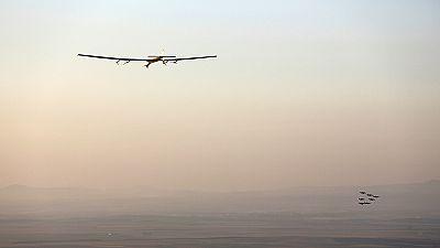 Solar Impulse lands in Spain after Atlantic crossing – nocomment
