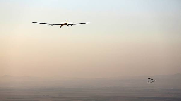 Solar Impulse İspanya'da