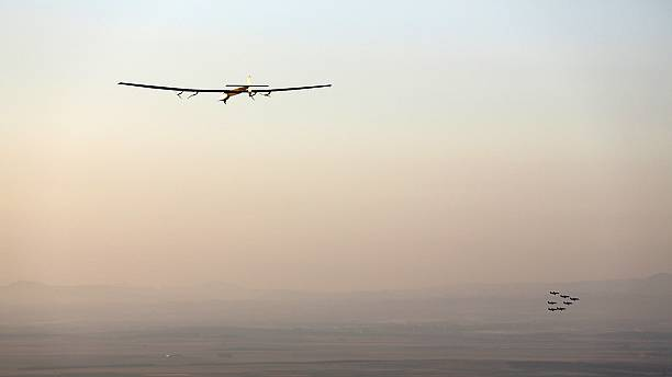 Solar Impulse lands in Spain after Atlantic crossing