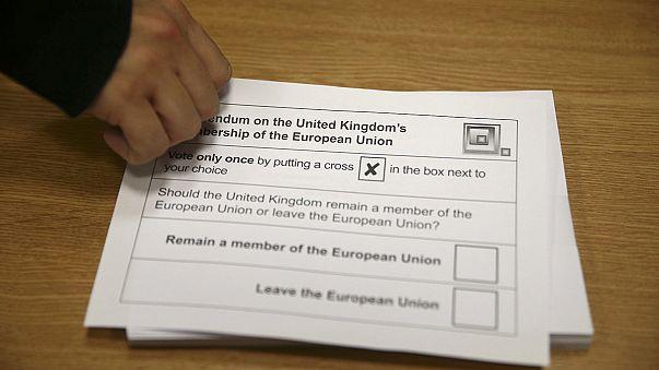Brexit - Stimmabgabe in vollem Gange