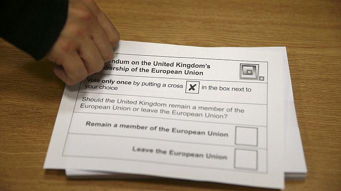 Brexit: las opiniones continúan divididas entre los votantes