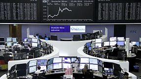 Markets calm as EU referendum under way in Britain