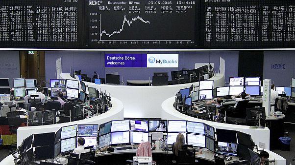 Фондовые рынки в ожидании результатов британского референдума