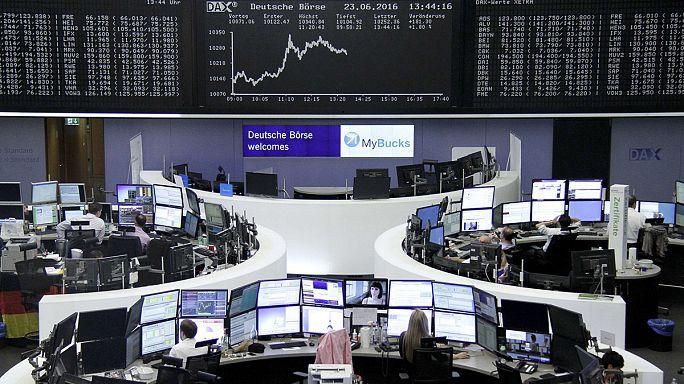 صعود الأسهم الأوروبية بالتزامن مع بدء استفتاء بريكست