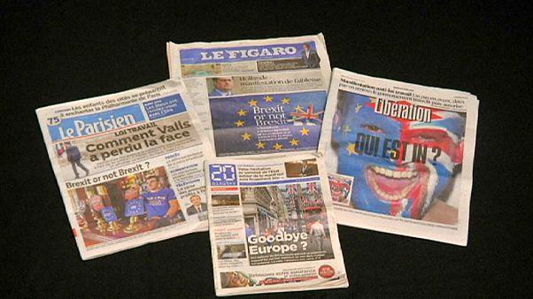 Δυνατά μηνύματα από τις ευρωπαϊκές εφημερίδες προς τους Βρετανούς