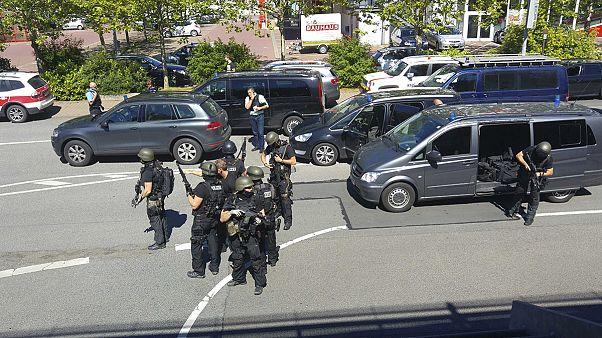 Almanya'da sinemaya silahlı baskın