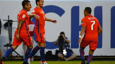 Chile advances to the Copa America final despite storm delay