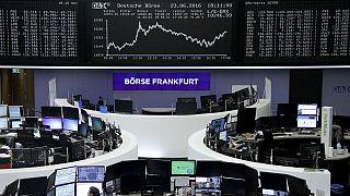 الأسهم الأوروبية تغلق خضراء...مدعومة بتفاؤل بقاء بريطانيا ضمن الإتحاد