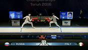 Russia dominate day four of European Fencing Championships