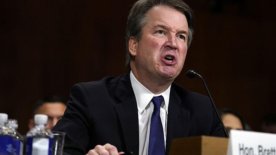 Image: Senate Judiciary Committee hearing on nomination of Brett Kavanaugh