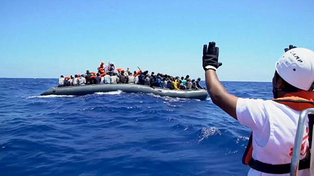 At least 5,000 migrants rescued from Mediterranean in one day - Coast Guard