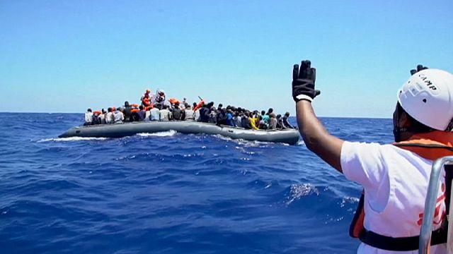 Akdeniz'de bir günde 5 bin göçmen kurtarıldı