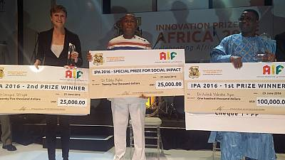 Beninese wins $100,000 for innovation of anti-malaria drug