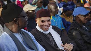 Jailed Karim Wade leaves Senegal after pardon, social media blocked
