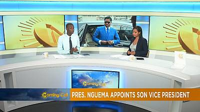 E. Guinea: president Nguema appoints son vice-president [The Morning Call]