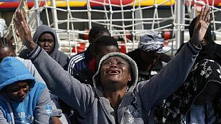 At least 5,000 migrants rescued in the Mediterranean Sea