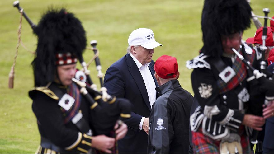 Trump says Brexit a great thing