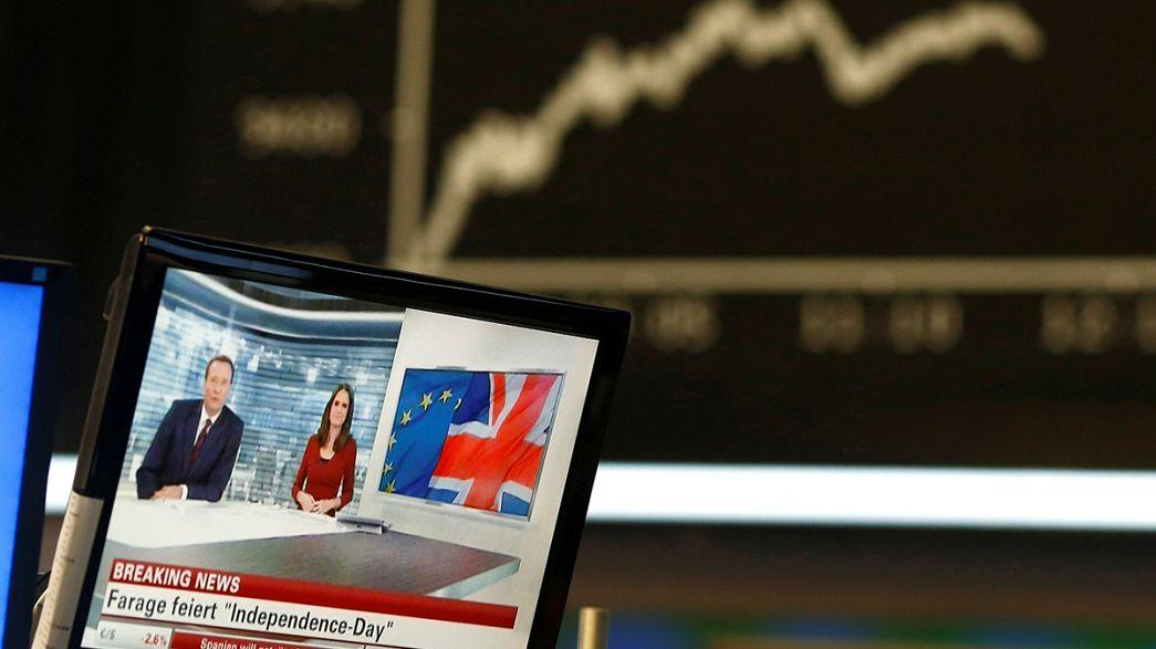 """Brexit: """"чёрная пятница"""" европейских фондовых рынков"""