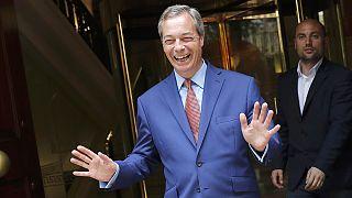 Johnson y Farage celebran la victoria del 'Brexit'
